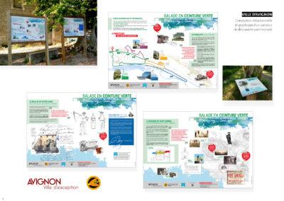Ville d'Avignon - Parcours de découverte patrimoniale