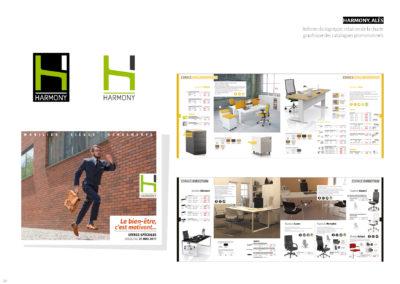 Harmony - Logo, charte graphique, catalogues promotionnels