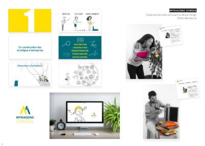 Myriagone Conseil - Vidéo identitaie en Motion design et photos d'entreprise