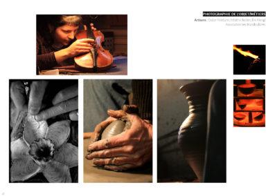 Photographie objets / métiers