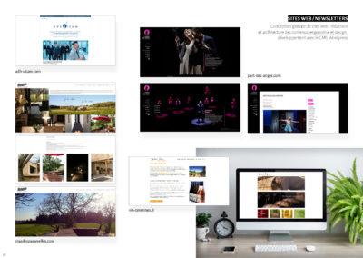Divers site web - Conception, développement, maintenance