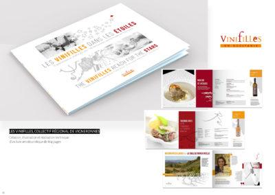 Les Vinifilles - Livre 164 pages