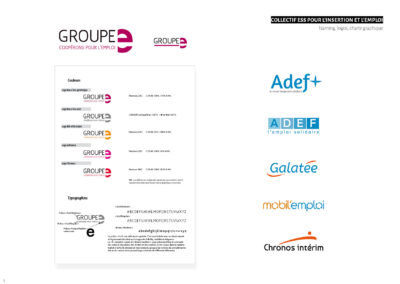 Groupe E - Naming, logos, charte graphique