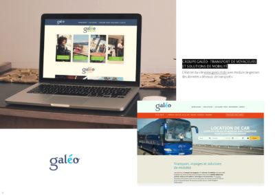 Galéo, conception et développement d'un site internet
