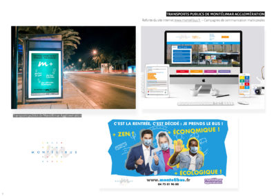 Montélibus - Refonte site web et campagne multicanal